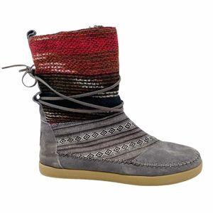 Toms   Nepal Fleece Lined Boots